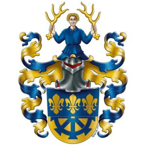 eigenes Familienwappen handgezeichnet, Wappen erstellen, Wappenkünstler, Wappenkunst, Heraldik, Heraldiker, historische Familienwappen neu zeichnen
