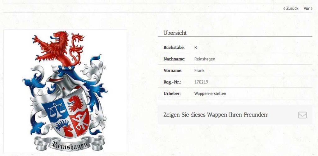 Mein Familienwappen, Wappen erstellen, Wappenkünstler, eigenes Wappen, Wappen entwerfen
